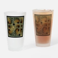 Escher Grey-Fern Drinking Glass
