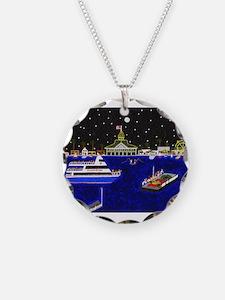 Funny Newport beach Necklace
