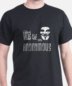 We are Anonymous: T-Shirt