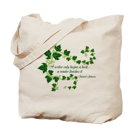 Writer and Reader Tote Bag