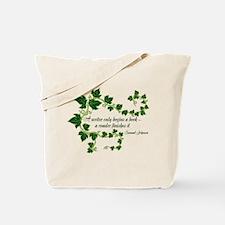 Writer and Reader Tote Bag