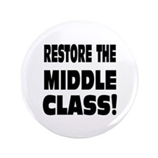 """Middle Class: 3.5"""" Button"""