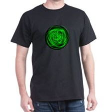 Green Fire Ball T-Shirt