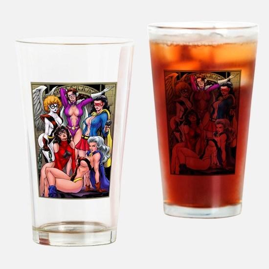 Cute Lesbian Drinking Glass