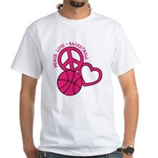Peace, Love, Basketball Shirt