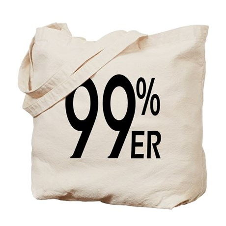 99 Percenter Tote Bag