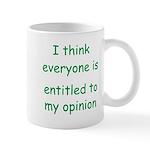 My OpinionGr Mug
