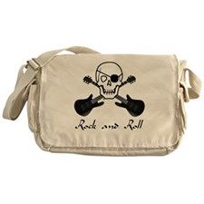 Rock and Roll Pirate Messenger Bag