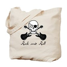Rock and Roll Pirate Tote Bag