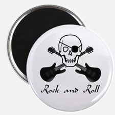 Rock and Roll Pirate Magnet