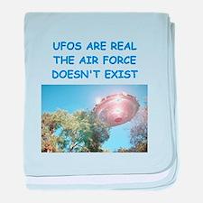 ufo joke baby blanket