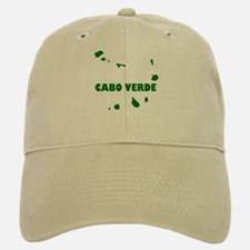 Cabo Verde Islands Baseball Baseball Cap