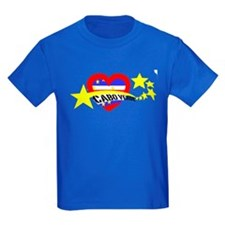 Cabo Verde Strela Heart Flag T
