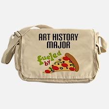 Art History Major Fueled by Pizza Messenger Bag