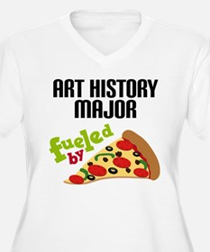 Art History Major Fueled by Pizza T-Shirt