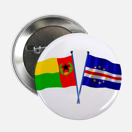 "Cape Verde Flags 2.25"" Button (10 pack)"