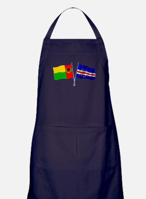 Cape Verde Flags Apron (dark)