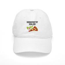 Biochemistry Major Fueled by Pizza Baseball Cap
