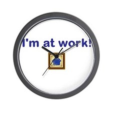 Funny Business owner Wall Clock
