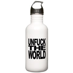 Unfuck The World Water Bottle