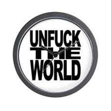Unfuck The World Wall Clock