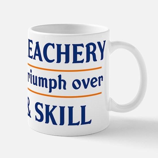 Age and Treachery will always Mug