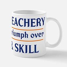 Age and Treachery will always Small Small Mug