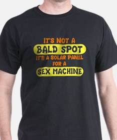 It's not a bald spot it's a s T-Shirt