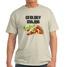 Geology Major Fueled by Pizza T-Shirt