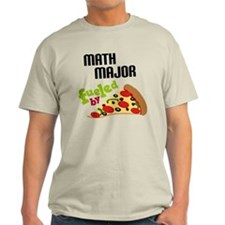 Math Major Fueled by Pizza T-Shirt
