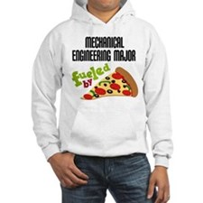 Mechanical Engineering Major Fueled by Pizza Hoode