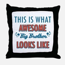 Awesome Big Brother Design Throw Pillow