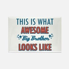 Awesome Big Brother Design Rectangle Magnet