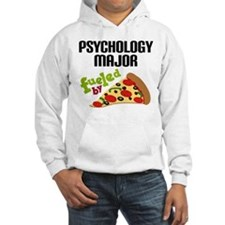Psychology Major Fueled by Pizza Hoodie
