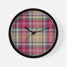 Tartan - Muirhead Wall Clock