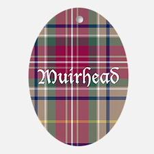 Tartan - Muirhead Ornament (Oval)
