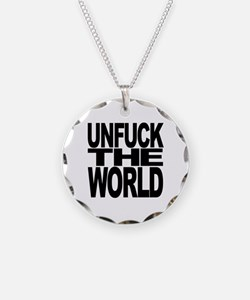 Unfuck The World Necklace