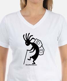 Kokopelli Backpacker Ash Grey T-Shirt