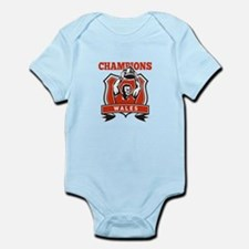 rugby champions wales Infant Bodysuit