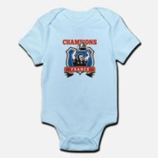 rugby champions france Infant Bodysuit