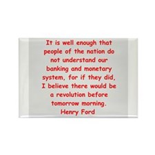 Henry Ford quotes Rectangle Magnet (10 pack)