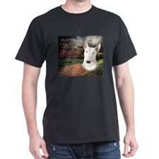"""Why God Made Dogs"" Bull Terrier T-Shirt"