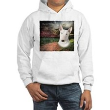 """Why God Made Dogs"" Bull Terrier Hoodie"