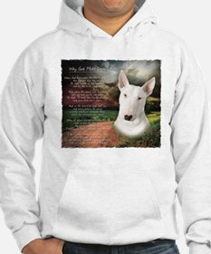 """""""Why God Made Dogs"""" Bull Terrier Hoodie"""