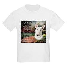"""Why God Made Dogs"" Bull Terrier T-Shirt"