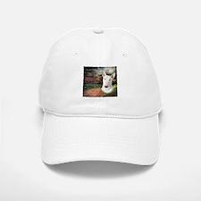 """""""Why God Made Dogs"""" Bull Terrier Baseball Baseball Cap"""