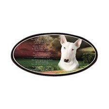 """Why God Made Dogs"" Bull Terrier Patches"