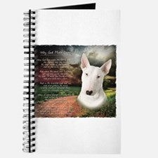 """Why God Made Dogs"" Bull Terrier Journal"