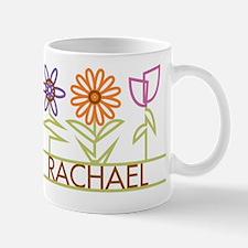Rachael with cute flowers Small Small Mug
