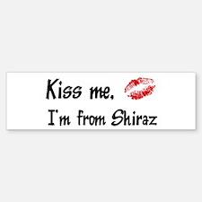 Kiss Me: Shiraz Bumper Bumper Bumper Sticker